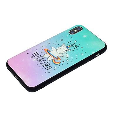 Unicorno temperato disegno iPhone Vetro Custodia retro 8 06633020 Per iPhone X Plus iPhone per Plus Resistente X Per iPhone Fantasia 8 Apple gw8gq6xUP