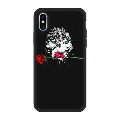 iPhone decorativo retro iPhone Per 06639319 iPhone X Per Fiore disegno per 8 Fantasia Apple Animali Custodia Morbido Plus TPU X animati Cartoni q7IwF1Hv