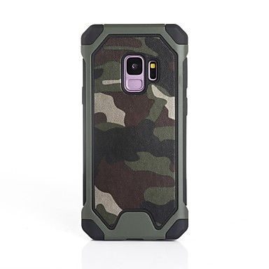 Case For Samsung Galaxy S9 Plus / S9 Shockproof Back Cover Camouflage Color Soft Silicone for S9 / S9 Plus / S8 Plus