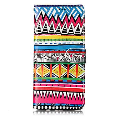 voordelige Galaxy Note-serie hoesjes / covers-hoesje Voor Samsung Galaxy Note 8 Kaarthouder / met standaard / Flip Volledig hoesje Cartoon / Doodskoppen / Bloem Hard PU-nahka