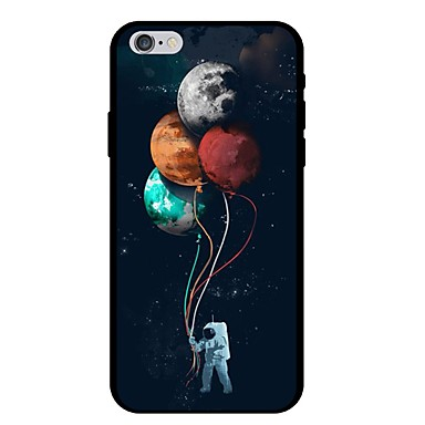 voordelige iPhone 5 hoesjes-hoesje Voor Apple iPhone XS / iPhone XR / iPhone XS Max Patroon Achterkant Cartoon / Balloon Zacht TPU