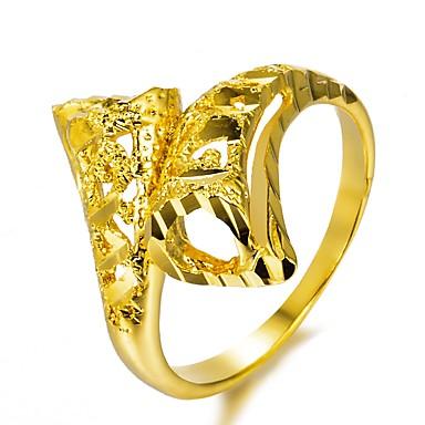 levne Prsteny-Geometrické Band Ring obalovací kroužek Pozlacené dámy Módní  Fashion Ring Šperky Zlatá Pro 4512815fd9