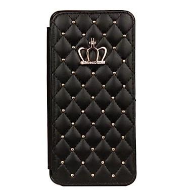 ケース 用途 Samsung Galaxy S9 Plus / S9 カードホルダー / ラインストーン / スタンド付き フルボディーケース タイル柄 / 幾何学模様 ハード PUレザー のために S9 / S9 Plus / S8 Plus