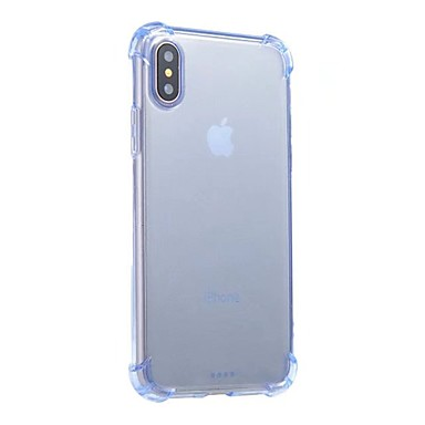 iPhone Per urti 8 Apple per iPhone TPU trasparente 8 06643999 unita X iPhone Custodia Plus Tinta retro Morbido Per corpo X iPhone Resistente agli Ufn4xSFq