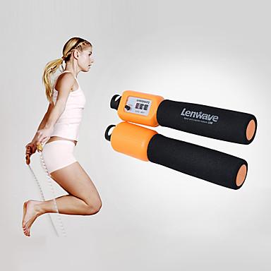 Jump Rope / İp Atlama İpi İle Naylon Portatif, Hız, Elektronik Crossfit, Kilo kaybı, Eğitim, Yakılan Kaloriler İçin Erkek / Kadın Boks / Fitness / Jimnastik Spor ve Outdoor
