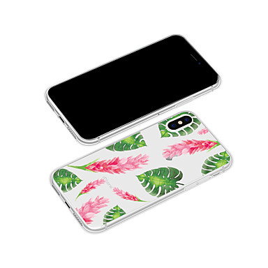 Piante Fantasia Plus Custodia Per TPU retro X disegno iPhone X Morbido Apple iPhone Fiore Per Plus 06639372 iPhone 8 iPhone per decorativo 8 x0PP1ngwq