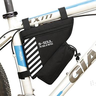 1.8 L Sac de cadre de vélo Sac de cruche intégré, Vestimentaire, Durable Sac de Vélo Térylène Sac de Cyclisme Sacoche de Vélo Cyclisme / Vélo