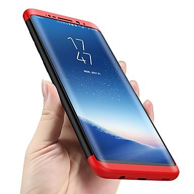 Недорогие Чехлы и кейсы для Galaxy S6-Кейс для Назначение SSamsung Galaxy S9 / S9 Plus / S8 Plus Защита от удара / Ультратонкий Чехол Однотонный Твердый ПК