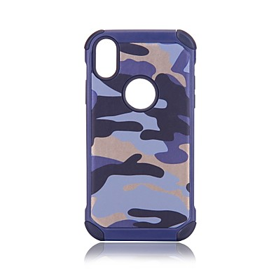 iPhone Plus Armatura retro per 8 Custodia 06639602 agli X iPhone iPhone X 8 Resistente 8 Per Mimetico Apple Resistente iPhone urti PC Per iPhone PPnfqwzR1