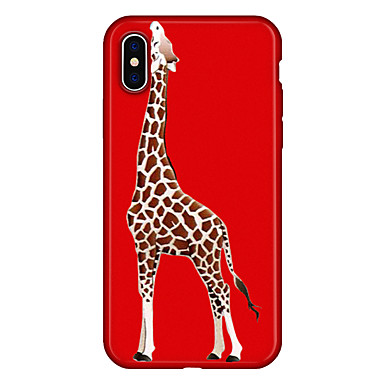 Animali Apple Plus Custodia X Morbido Per iPhone 8 Cartoni iPhone disegno 06639293 per iPhone 8 Plus Per X iPhone retro animati Fantasia TPU OOqw15tSxW