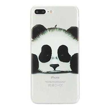 Panda Plus iPhone Custodia X 06698660 per Fantasia iPhone iPhone iPhone TPU Morbido Per Plus 8 disegno 8 Per 8 iPhone X retro Apple qPAqw