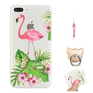 Per iPhone retro Per 06715265 8 X X iPhone Fenicottero iPhone iPhone Custodia TPU Morbido 8 Fantasia per 8 Apple Plus Plus iPhone disegno wIzddpqx