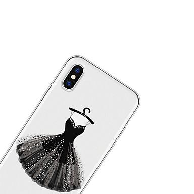 Plus per Custodia Cartoni disegno X 06707992 TPU iPhone X Fantasia Morbido Per Apple retro iPhone Per iPhone iPhone 8 Plus animati 8 qPZqRrw