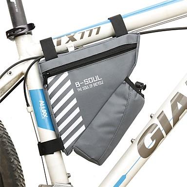 1.8 L Sac de cadre de vélo / Sac à armature triangulaire Ecran tactile, Sac de cruche intégré, Vestimentaire Sac de Vélo Térylène Sac de Cyclisme Sacoche de Vélo Cyclisme / Vélo