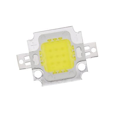 zdm 10w yüksek güç entegre led doğal beyaz / altın tel kaynak bakır braket (dc9-12v 900ua)