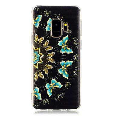 hoesje Voor Samsung Galaxy S9 Plus / S8 Plus Patroon Achterkant Vlinder Zacht TPU voor S9 / S9 Plus / S8 Plus