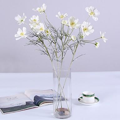 زهور اصطناعية 1 فرع كلاسيكي فردي أسلوب بسيط الحديث أقحوان الزهور الخالدة أزهار الطاولة