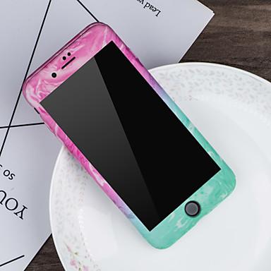 iPhone iPhone 06749907 8 Effetto X 8 iPhone Resistente per X PC Fantasia 8 Plus marmo Custodia Apple iPhone iPhone Integrale Per disegno 1HAH6
