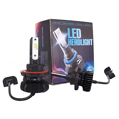 cheap Car Headlights-2pcs H13 / 9004 / 9007 Car Light Bulbs 180 W Integrated LED 18000 lm 4 LED Headlamp For Jeep / Ford / Dodge Patriot / Compass / Grand Cherokee All years