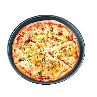 1PC الالومنيوم قادم جديد اصنع بنفسك بيتزا دائري صينية أدوات خبز