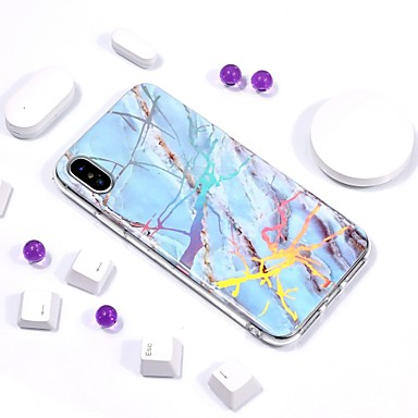 IMD X Per iPhone Morbido Effetto iPhone per iPhone Per 06739991 X 8 Fantasia iPhone retro Placcato Apple 8 Custodia marmo TPU disegno ctwvgp0qt
