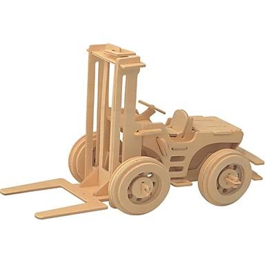 تركيب خشبي / ألعاب المنطق و التركيب سيارة الحفريات مدرسة / تصميم جديد / المستوى المهني خشبي 1 pcs للأطفال / في سن المراهقة الجميع هدية