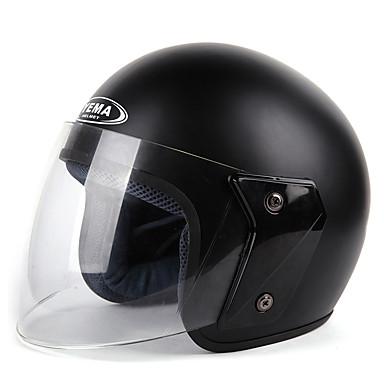 voordelige Motorhelmen-YEMA 607 Halve helm Volwassenen Unisex Motorhelm Schokbestendig / Anti-UV / Windbestendig