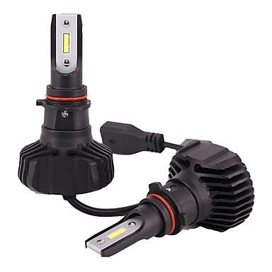 ieftine Lumini de Ceață Mașină-1 kit non-polaritate inteligent de control al temperaturii 90w 9000lm psx26 bulb globe h16 culoare albă ușoară
