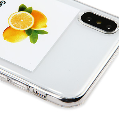 Con iPhone 8 8 Frutta sottile Morbido iPhone 06748858 iPhone TPU Apple retro iPhone logo Custodia Per Ultra per X Plus iPhone Per 8 Apple X 0WAHxvOXxq