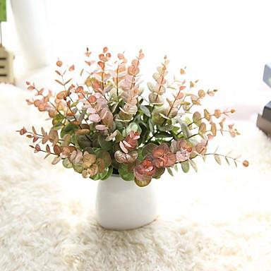 زهور اصطناعية 10 فرع زهري أسلوب بسيط الزهور الخالدة أزهار الطاولة