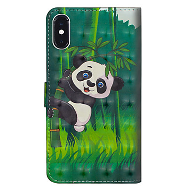 X sintetica Integrale iPhone Resistente Panda Apple iPhone Per supporto per di Plus Porta portafoglio A X 06756800 8 Con pelle credito iPhone Plus iPhone 8 iPhone Custodia 8 carte ZwqBWHwF