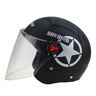 SENHU SH-975 نصف خوذة بالغين للجنسين دراجة نارية خوذة مكافح الضباب / ثبات / مقاومة الصدمات
