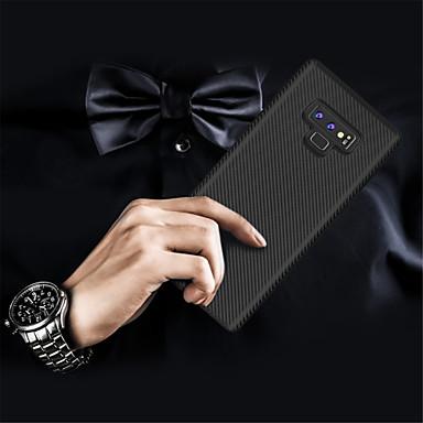 غطاء من أجل Samsung Galaxy Note 9 / Note 8 مطرز غطاء خلفي لون سادة ناعم TPU