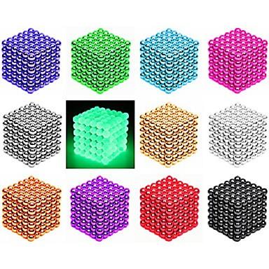 216/512 pcs 3mm / 5mm Magnet Toy Magnetic Balls / Building Blocks / Puzzle Cube Magnet / Neodymium Magnet Creative / Magnetic / intelligent Gift