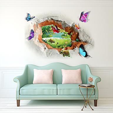 لواصق حائط مزخرفة - لواصق مناظر طبيعية / 3D غرفة الجلوس / غرفة النوم / دورة المياه
