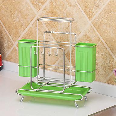 1PC الرفوف وشمعدانات البلاستيك سهلة الاستخدام