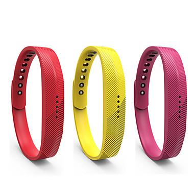 voordelige Horlogebandjes voor Samsung-Horlogeband voor Gear Fit 2 Fitbit Sportband Silicone Polsband