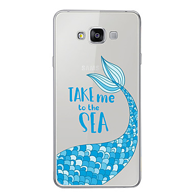 غطاء من أجل Samsung Galaxy A3 (2017) / A5 (2017) / A7 (2017) نموذج غطاء خلفي كارتون ناعم TPU