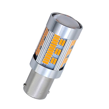 SO.K 2pcs 1156 سيارة لمبات الضوء 10 W مصلحة الارصاد الجوية 4014 1800 lm 105 LED ضوء إشارة اللف For عالمي كل السنوات