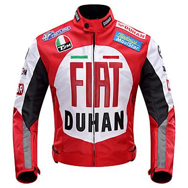 DUHAN DUHAN-082 ملابس نارية Jacket إلى الجميع 600D بوليستر الربيع / كل الفصول ضد الماء / مقاومة للاهتراء / حماية