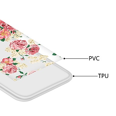 a TPU 8 Custodia retro Liquido per iPhone decorativo urti iPhone Per Morbido 8 iPhone Apple cascata X Transparente Per X Plus Fiore iPhone Resistente agli 06826215 iPhone 8 Plus PrPHxZw