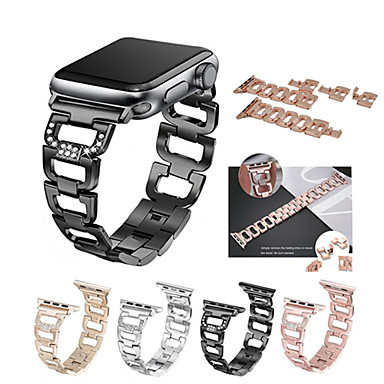 حزام إلى Apple Watch Series 4/3/2/1 Apple عصابة الرياضة ستانلس ستيل شريط المعصم