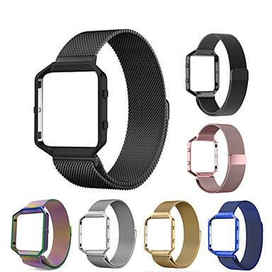 حزام إلى Fitbit Blaze فيتبيت عقدة ميلانزية ستانلس ستيل شريط المعصم
