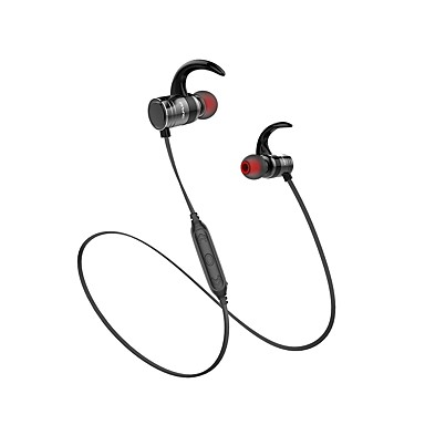 AWEI AK7 سماعة رأس حول الرقبة Bluetooth4.1 الرياضة واللياقة البدنية مع ميكريفون