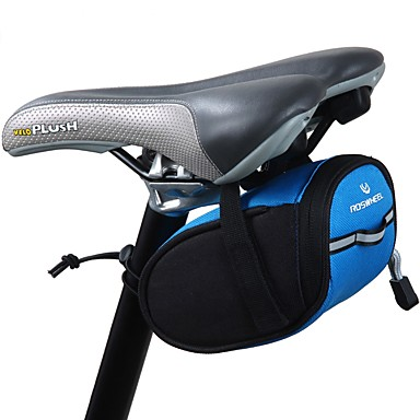 0.9 L حقيبة السراج للدراجة المحمول خفة الوزن سهل التركيب حقيبة الدراجة 300D بوليستر حقيبة الدراجة حقيبة الدراجة الدراجة