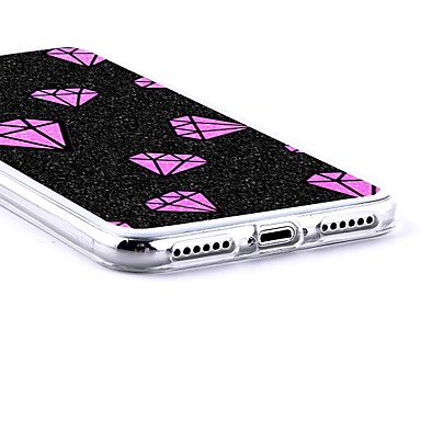 iPhone Morbido disegno Fantasia iPhone per iPhone Plus 06831200 Plus Apple 8 X Per 8 Per retro iPhone Custodia X 8 iPhone Strass TPU C8Rw07q