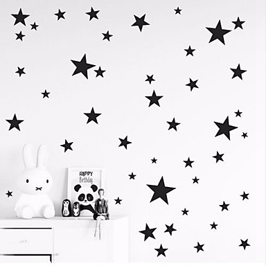 لواصق حائط مزخرفة - لواصق حائط الطائرة نجوم حضانة / غرفة الأطفال