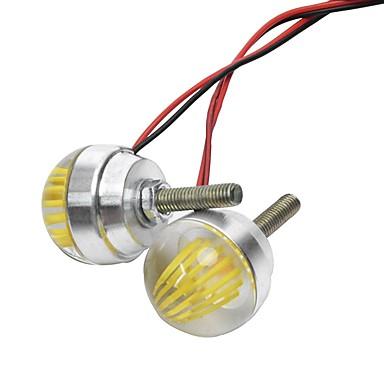 Недорогие Фары для мотоциклов-Lights Maker 2pcs Мотоцикл Лампы 3 W SMD LED 590~560 lm 1 Светодиодная лампа Мотоцикл / Внешние осветительные приборы For Мотоциклы Универсальный Все года / Универсальный