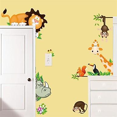 لواصق حائط مزخرفة - لواصق حائط الطائرة حيوانات داخلي / غرفة الأطفال