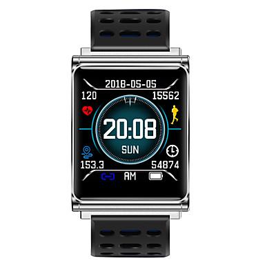 N98 رجالي سمارت ووتش Android iOS بلوتوث ضد الماء رصد معدل ضربات القلب رمادي داكن إسبات الطويل معلومات عداد الخطى تذكرة بالاتصال متتبع النوم تذكير المستقرة ساعة منبهة / التحكم بالكاميرا / 250-300